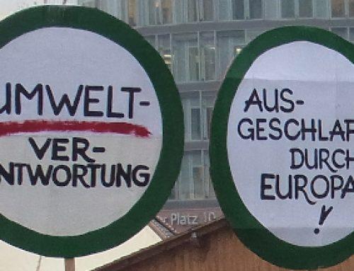 Offener Brief von 36 Verbänden an die Verkehrsminister*innen der EU