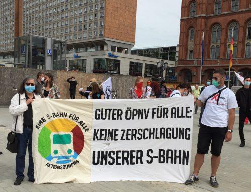 S-Bahn ist Daseinsvorsorge